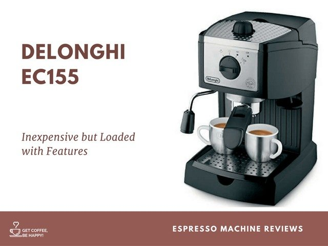 DeLonghi EC155 Review: The Best Espresso Machine for Home Use