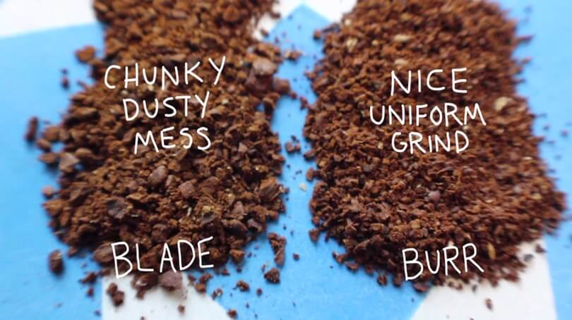 differences between blade and burr grinders
