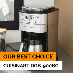 Our choice - Best Coffee Maker with grinder 2018